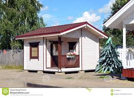 Small Houses For Sale Small Wooden House For Sale Editorial Stock Image Image 57806504