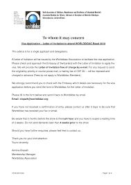 Sample invitation letter for Canadian Visa   Canada Visa Help soymujer co