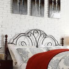 tribecca home leann cama con estructura de metal bronce y