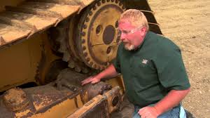 cat dozer pivot shaft oil check youtube