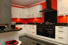 Red And Black Kitchen Ideas Red Kitchen Ideas Dark Brown Wooden Laminate Bar Stools Square