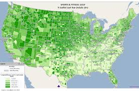 Thematic Maps 2013 06 Golfed Last Year Geometrx