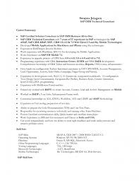 Sap Mm Sample Resumes by Sap Sample Resume For Freshers Experienced Free Download Sap Abap