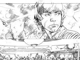 open phil noto u0027s chewbacca sketchbook part 2 starwars com