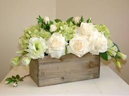 Table Flower Arrangements Best 25 Flower Box Centerpiece Ideas On Pinterest Planter Box