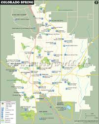Colorado State University Map by Colorado Springs Map Map Of Colorado Springs Colorado