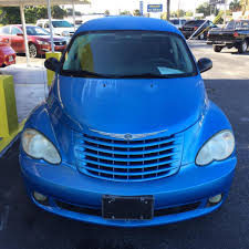 blue chrysler pt cruiser in florida for sale used cars on