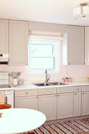 budget friendly grey gold pink kitchen makeover dans le lakehouse