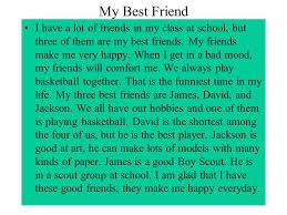 slide    jpg Best Friend School Essay