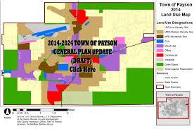 Payson Arizona Map by Community Development Home