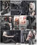 Черная длинная курточка-парка м-51 9464 - купить на military ru