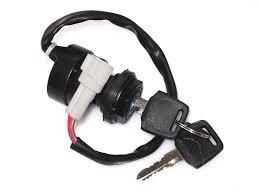 amazon com 2 wire ignition key switch yamaha atv raptor warrior