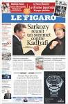 Newspaper LE FIGARO (France). Newspapers in France. Saturday's ...