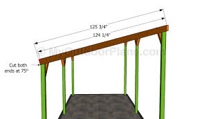 Free Saltbox Wood Shed Plans by Building The Rafters Betong Pinterest Wooden Carports