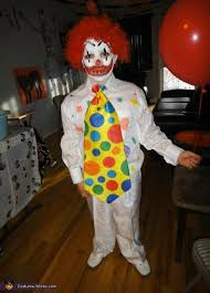 Clowns Halloween Costumes Pennywise Clown Homemade Halloween Costume