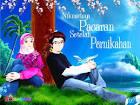 gambar kartun muslimah romantis banget