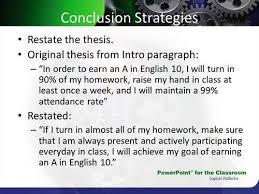 thesis statement FAMU Online