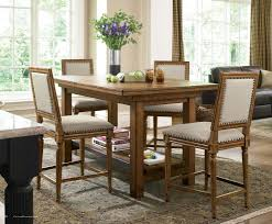 rustic counter height table kitchen traditional with breakfast