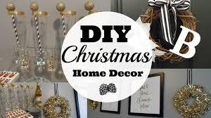 Christmas Decorations Diy by Diy Christmas Home Decor Youtube