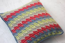 Knitted Cushions With Buttons Guest Blogger Reversible Spike Stitch Pillow Cover