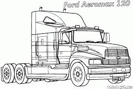 Old Ford Truck Coloring Pages - coloring page tractor mask