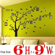 dagou huge 7 u0027 ft h x 7 u0027 ft w wall decals memory tree and birds