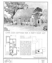 1940 colonial house plans arts