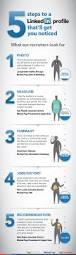 Linkedin Url On Resume 5 Steps To A Linkedin Profile That U0027ll Get You Noticed Infographic