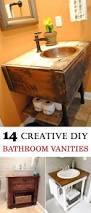 Bathroom Craft Ideas Best 25 Diy Bathroom Vanity Ideas On Pinterest Half Bathroom