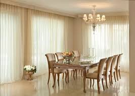formal dining room with sheer curtains an elegant formal dining