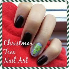 nail art how to christmas tree college fashion