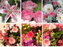 Flowers Delivered Uk - pink flower collection fresh flowers free uk delivery