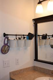Bathroom Shelves Ideas by Painted Thrift Store Shower Curtain Hooks Counter Space Spaces