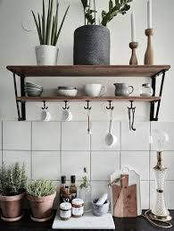 Kitchen Shelving Kitchen Shelves Swedish Apartment White Grey Beige