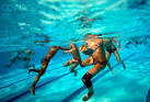 under water polo
