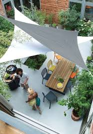 Rooftop Garden Ideas Awesome Cool Modern Roof Garden With Shade Sails Succulent