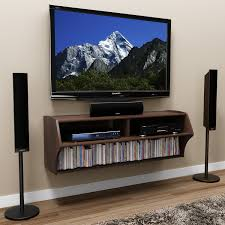 Latest Tv Cabinet Design Furniture Interior Modern Flat Tv On Leveled Cabinet Design With