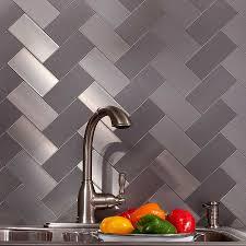 Metal Kitchen Backsplash Tiles Free Cost Estimates For Metal Backsplash Services