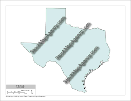 Texas Map Outline Stockmapagency Com Simple Outline Map Of Texas Available As Poster