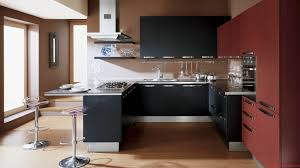 perfect modern kitchen for small spaces a situated against