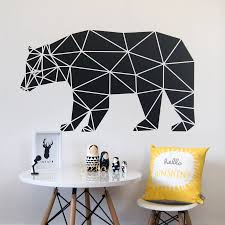 geometric wall stencils promotion shop for promotional geometric