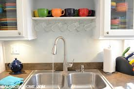 Moen Quinn Kitchen Faucet by Our Brand Spankin U0027 New Moen Faucet Balancing Home With Megan Bray