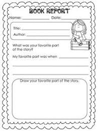 Th Grade Book Report Template   Best Template Example