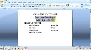How To Do An Resume How To Do A Resume On Word Resume For Your Job Application