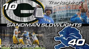 lions bears thanksgiving lions vs packers thanksgiving day slowlights youtube