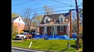 roof replacement on a cape cod house 20901 youtube