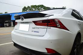 lexus is350 uk import carbon fiber for lexus is250 is350 is f trd type rear trunk lip