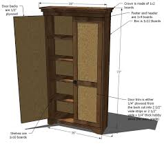 Kitchen Storage Cabinets Pantry Best 25 Armoire Pantry Ideas On Pinterest Tv Cabinet Online