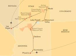 Canyonlands National Park Map Southwest National Parks The Ohio State University Alumni
