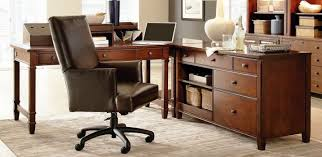 Solid Oak Office Furniture by Modular Solid Oak Home Office Furniture Orrick Rustic Solid Oak
